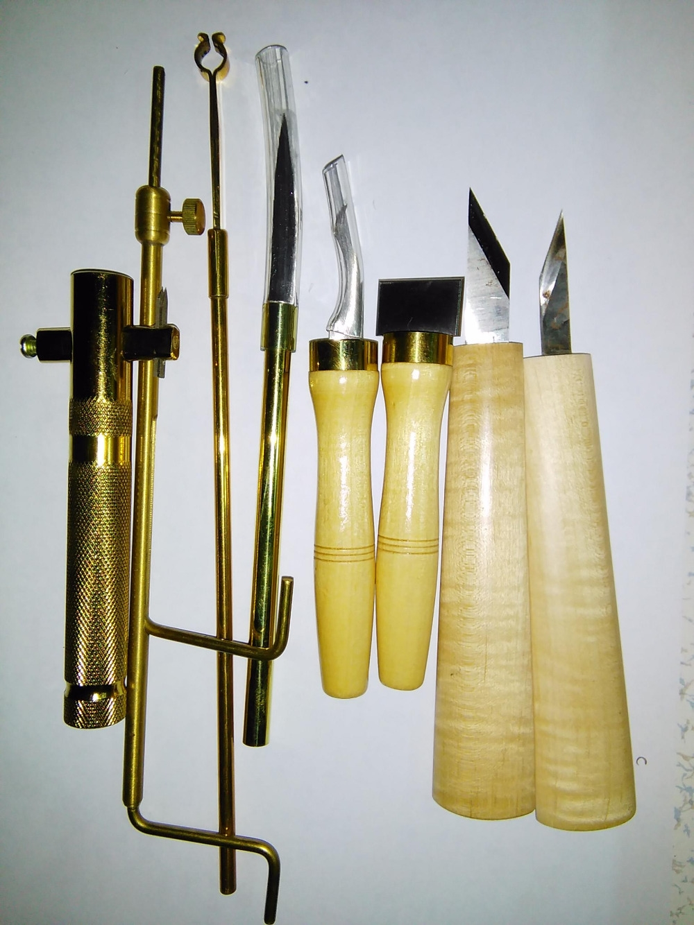 86.99$  Buy here - http://ailao.worlditems.win/all/product.php?id=32693033658 - 8 PCs Luthier tools for Cello use including cutter repair knife scraper inlay tool post gauge purfling knife etc