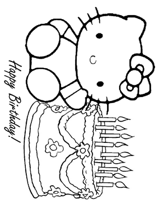 print out pages for kids to color at party... | Tati & Gize Bday ...