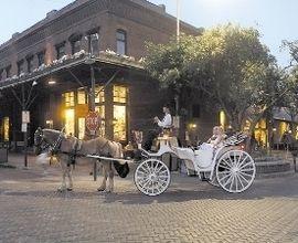 Carriage Rides - Old Market, Omaha NE