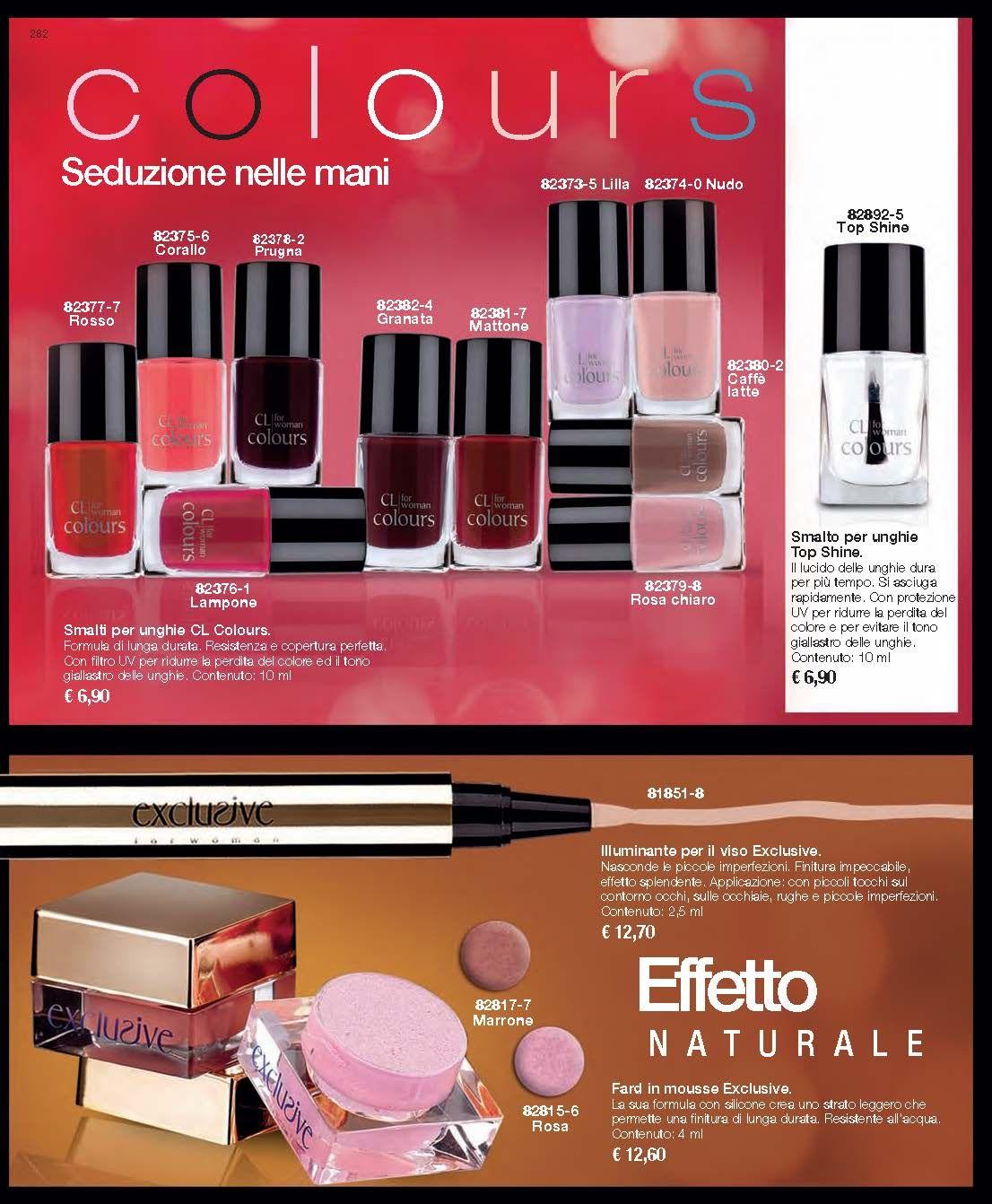 Smalti CL Colours  + Illuminante viso Exclusive - General Book III/2014 Cristian Lay http://www.cristianlayitalia.it/general-book/