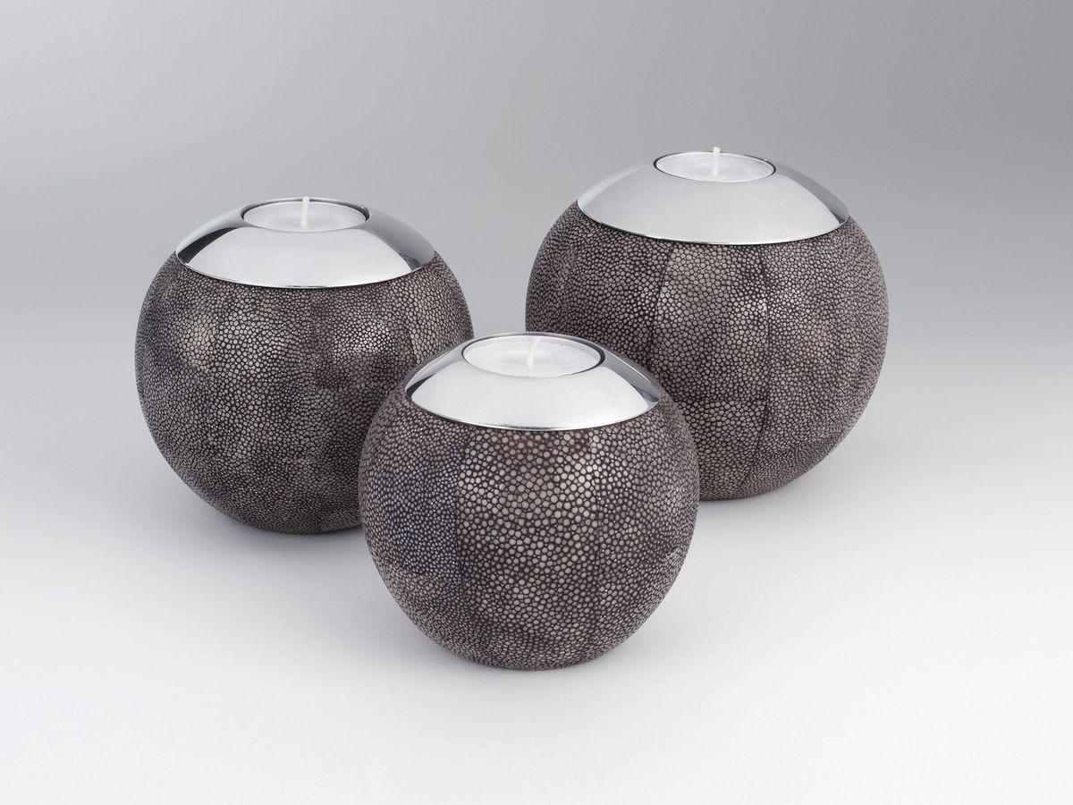 Amaris Elements Teelichthalter Rochenleder kaufen im borono Online Shop