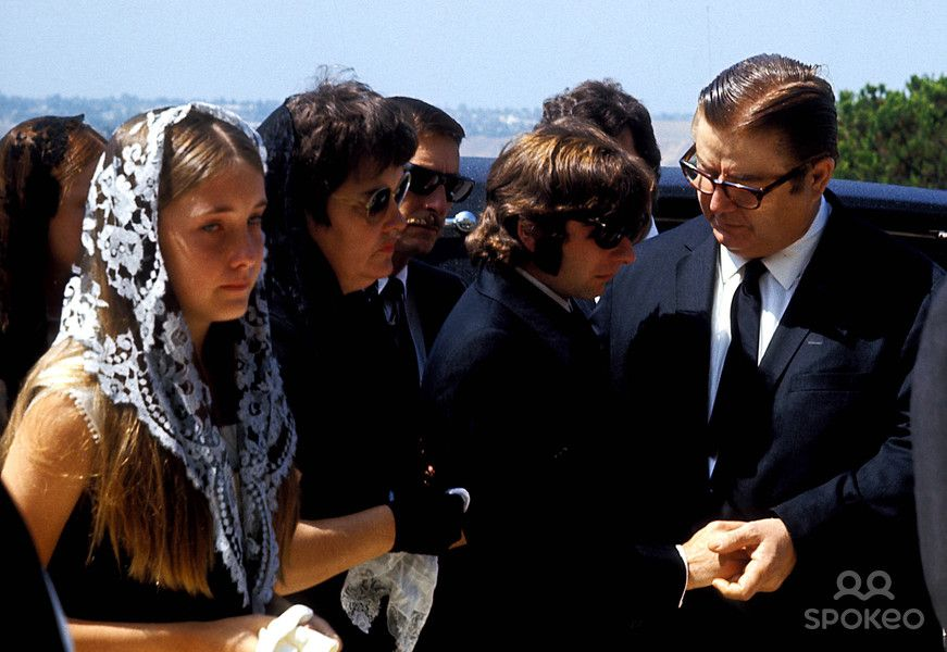 Image result for sharon tate's funeral