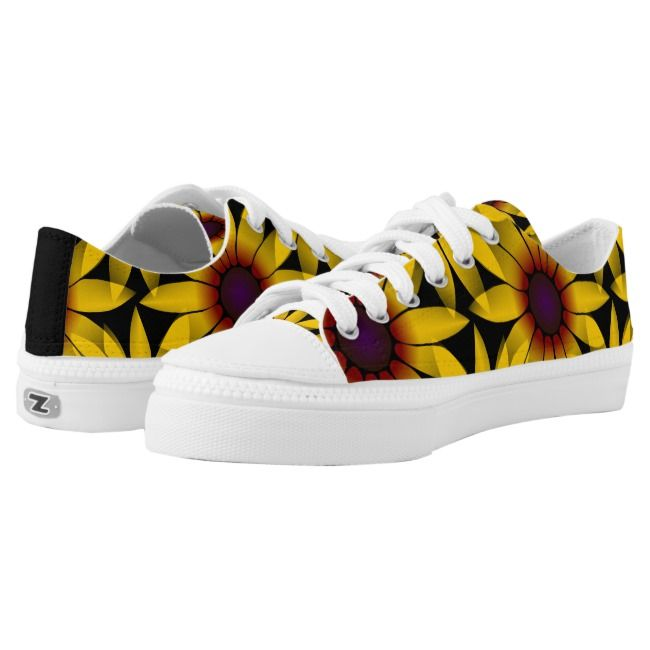 wonderful shoes with yellow sun hat – flowers | Zazzle.com