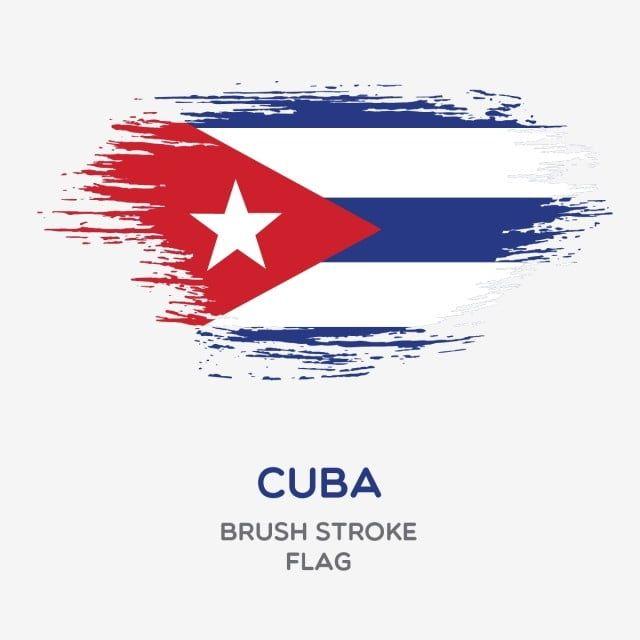 Cuba Brush Stroke Flag Vector And Png Cuba Flag Flag Tattoo