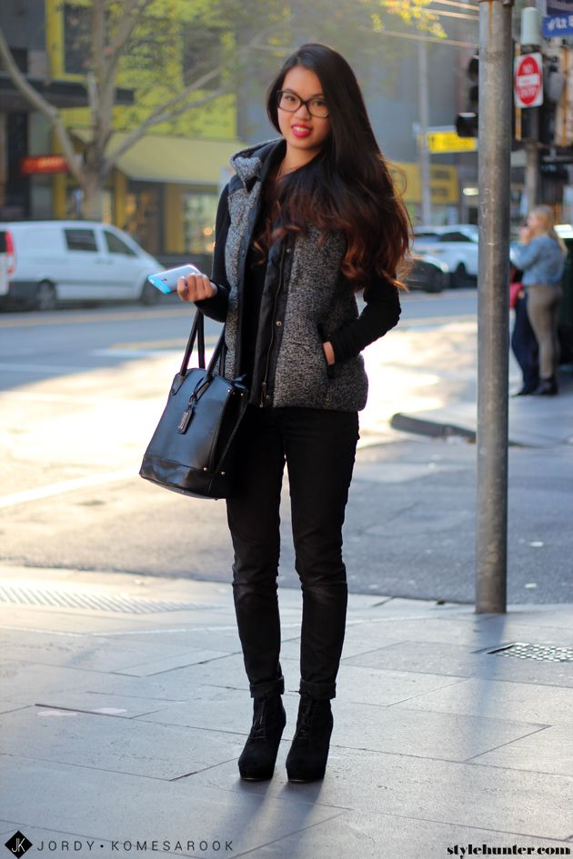 Denim. Definitely an essential in Melbourne, you won't walk down the busy streets of the CBD without seeing a sea of blue