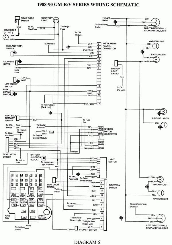 16+ 89 Chevy Truck Radio Wiring Diagram