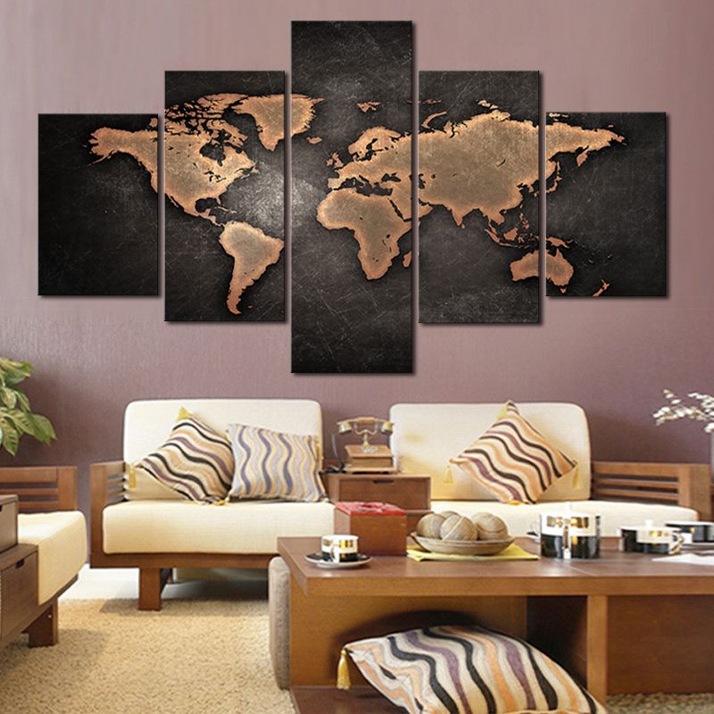 Free Shipping Buy Best 5 Pcs/Set Vintage Oil Painting House Wall