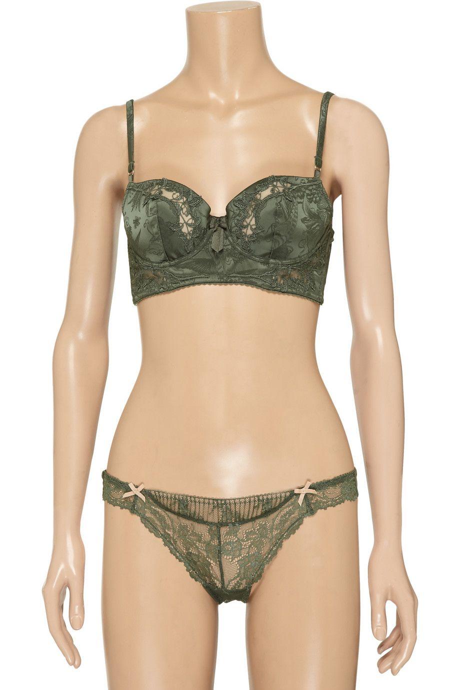 Elle Macpherson Intimates Exotic Garden contour bra - 50% Off Now at THE OUTNET