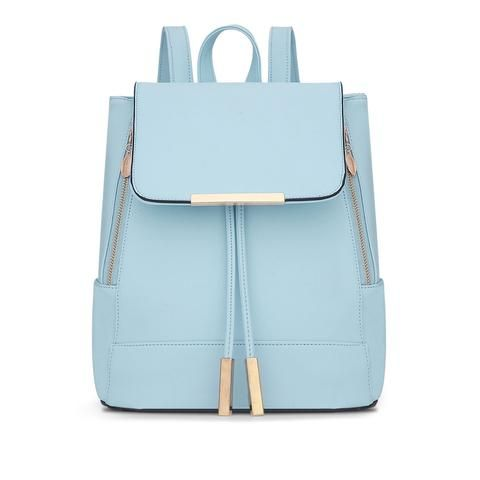 Trendy Leather Backpack for Everyday, School or Travel   A la mode ... 715d11b8fa
