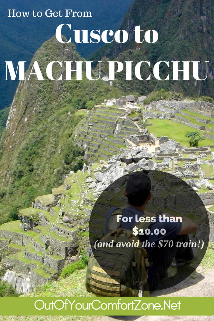 Visiting Machu Picchu, Peru can be expensive... but it doesn't have to be!