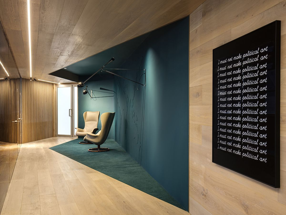 Interni Ufficio Design.Uffici C Forte Architetti Nel 2019 Disegno Hall Ufficio