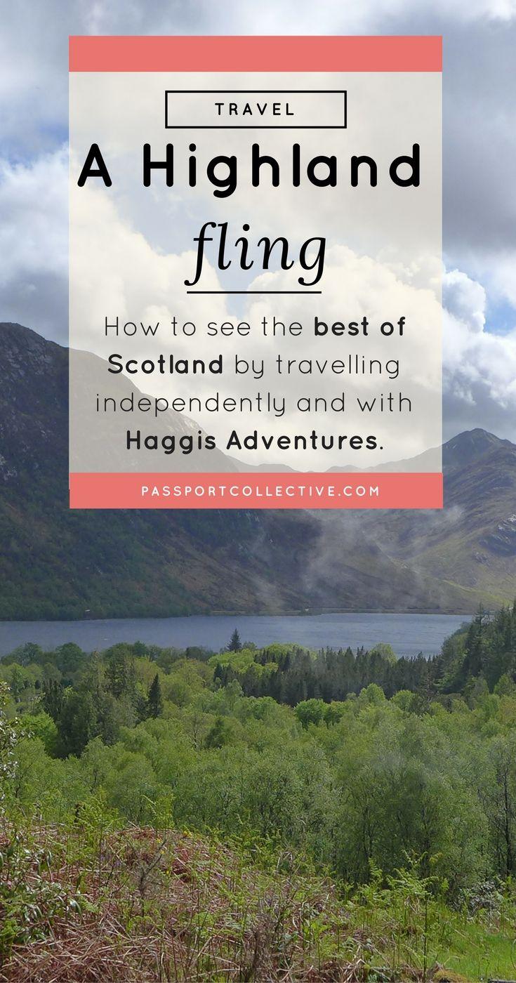 Haggis tours highland fling