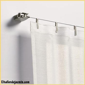 barrales para cortina en acero  Buscar con Google