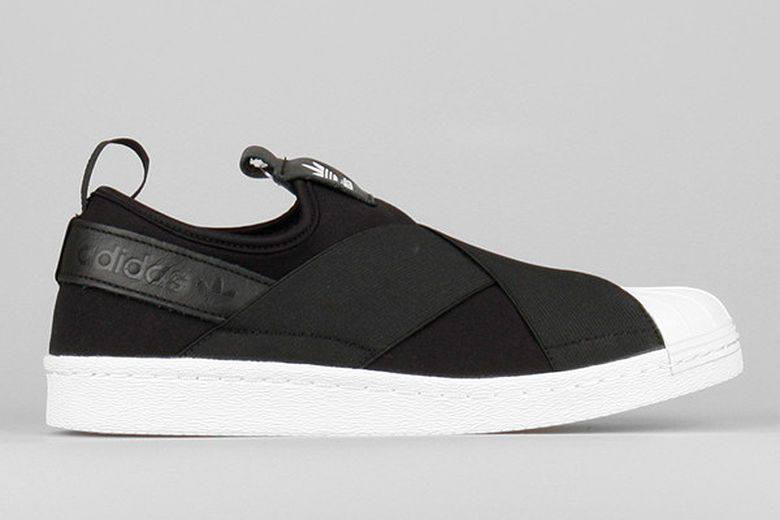 Bandaged Slip-On Sneakers : Adidas Originals Superstar