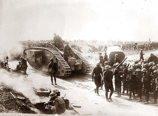 WW1 was the first time tanks were used in battle.Tanks allowed ...