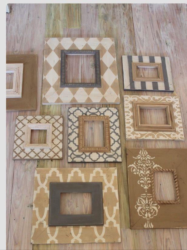 Pin de Miram Craft en decoration | Pinterest | Marcos y Decoración