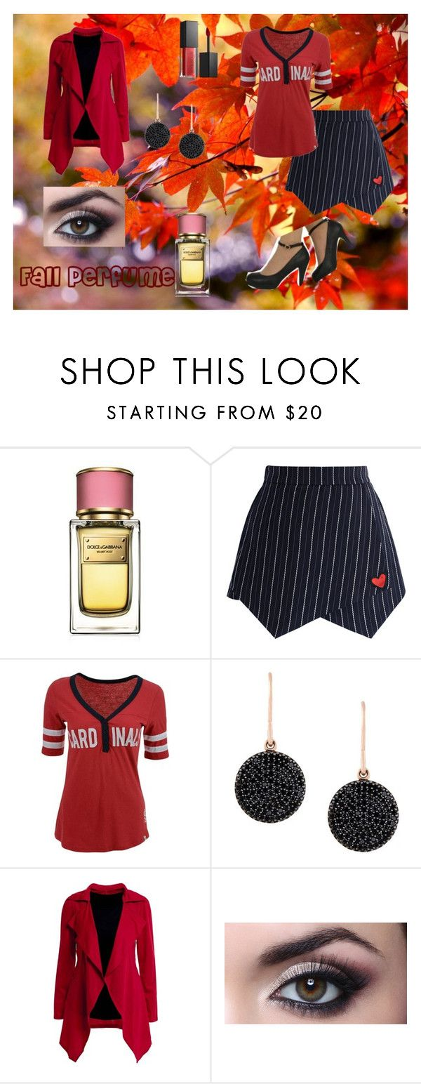"""""""Unbenannt #457"""" by christinejoanna ❤ liked on Polyvore featuring Dolce&Gabbana, Chicwish, '47 Brand, Astley Clarke and Smashbox"""