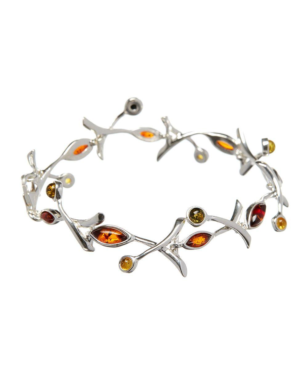 Honey Green & Citrine Amber Vine Bracelet