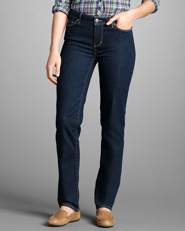 Women's Stayshape® Straight Leg Jeans Slightly Curvy