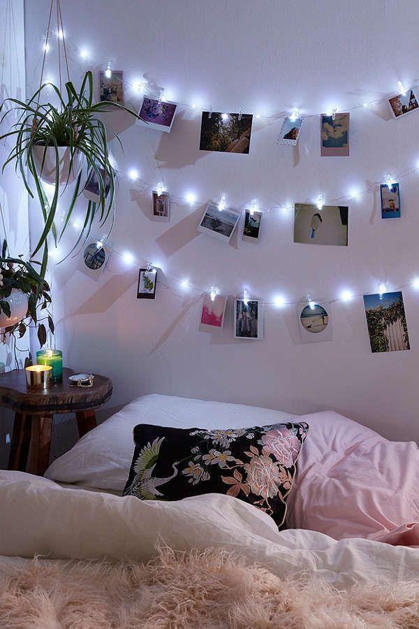 dorm lighting ideas for girl   Épinglé sur chambre
