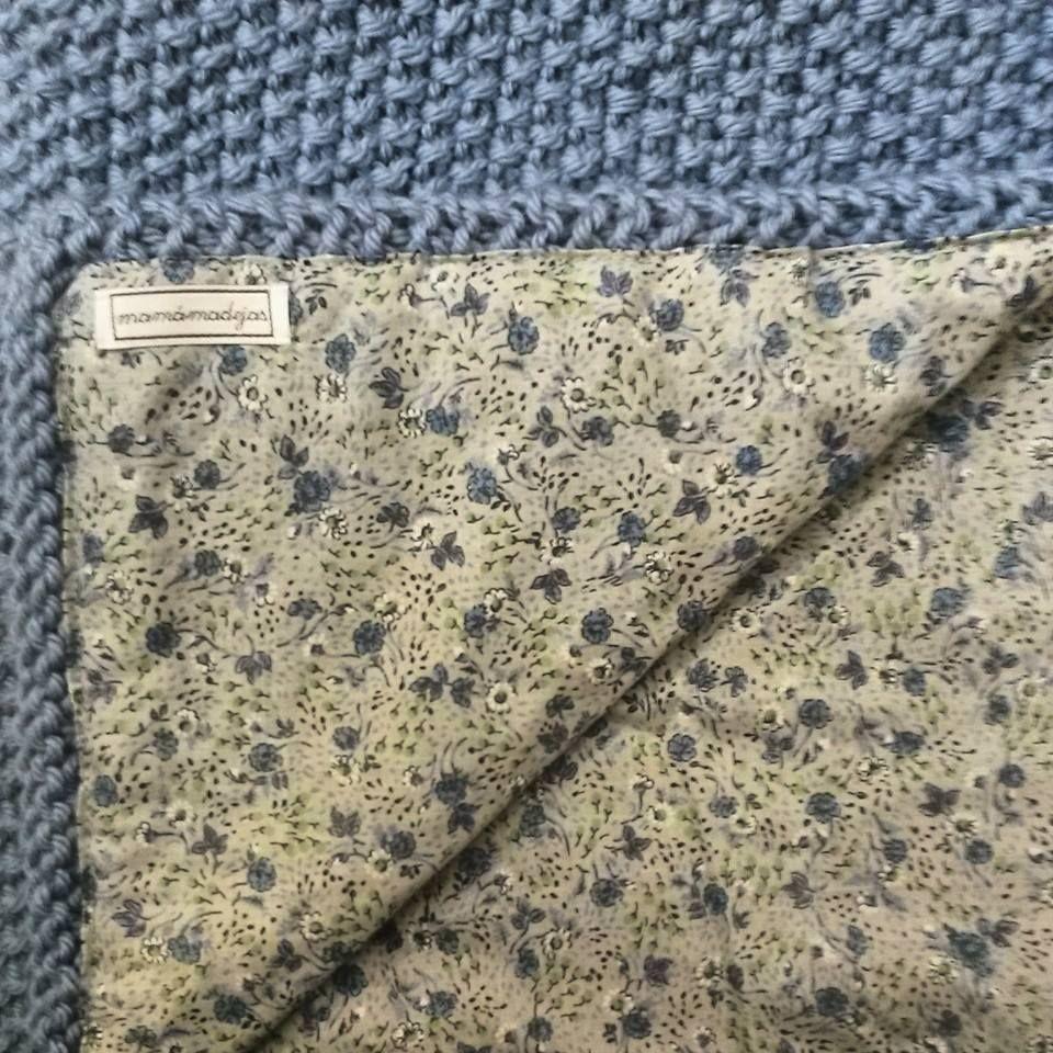 Mamamadejas tejidos pinterest manta tejido y bebe for Colchas de punto de lana