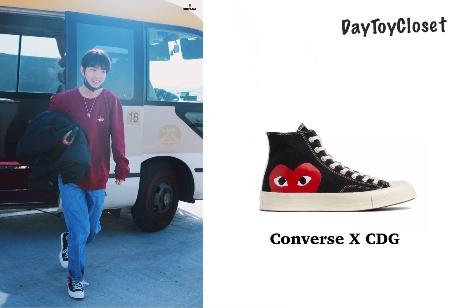 Pin By Qwonie On Kpop Fashion Converse Chuck Taylor High Top Sneaker Chucks Converse Top Sneakers