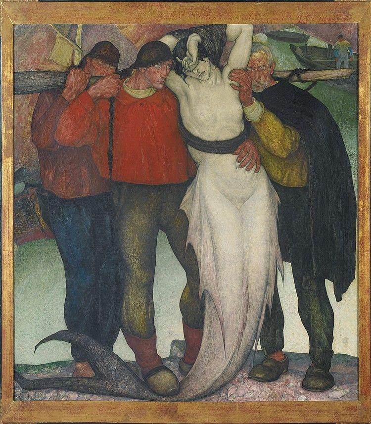 Anto Carte, 1886-1954. LES OFFRANDES (TRIPTYQUE), 1923 ...
