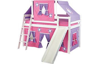 Affordable White Bunk Beds Rooms To Go Kids Furniture Kayleigh