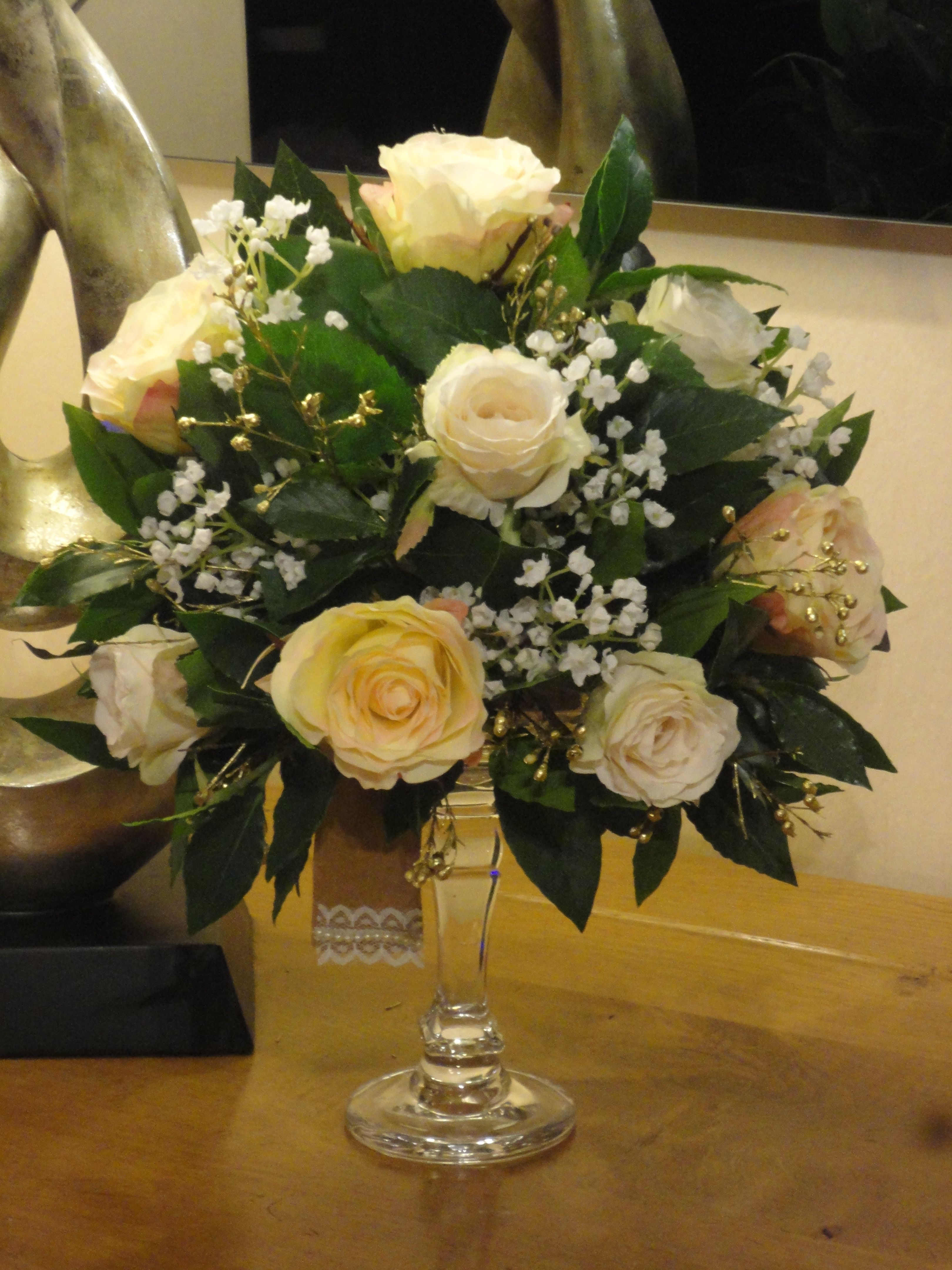 Wedding Flowers For 50th Anniversary