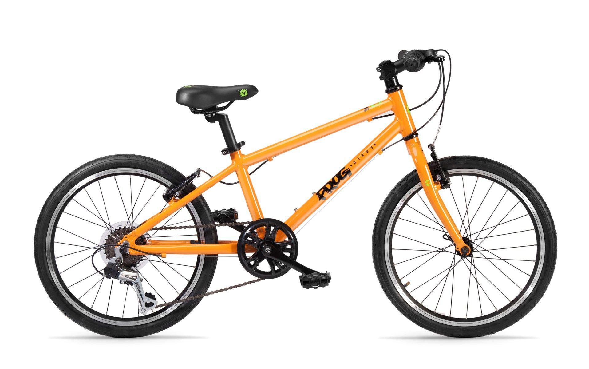 Frog 55 Hybrid Bike Orange