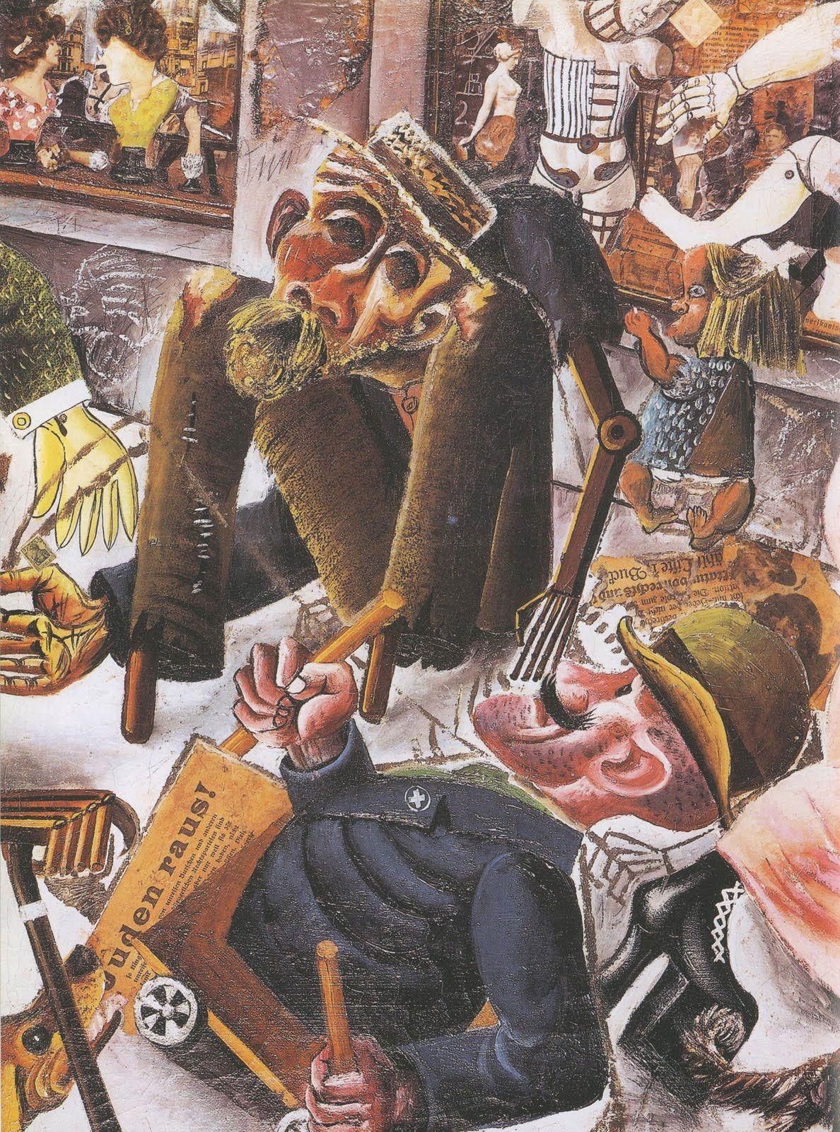 Tableau Otto Dix La Guerre : tableau, guerre, Prague, Histoire, Collège, Alexandre, Dumas, Degenerate, German