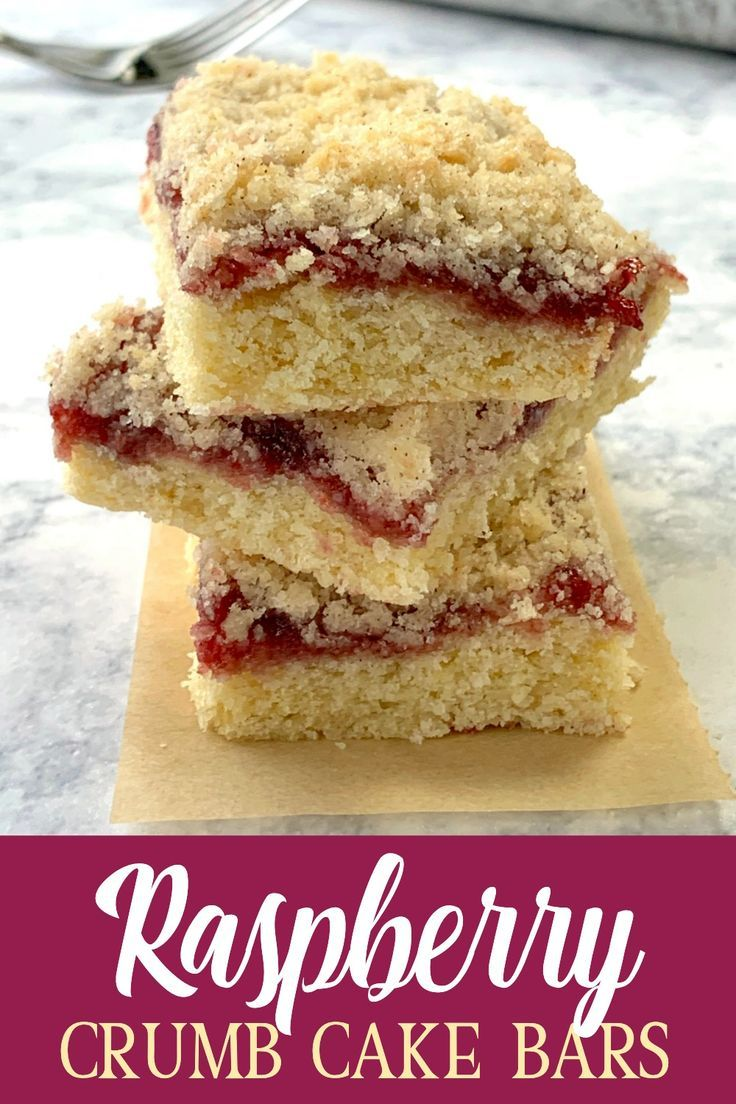 This delicious pastry dessert with raspberry jam and a