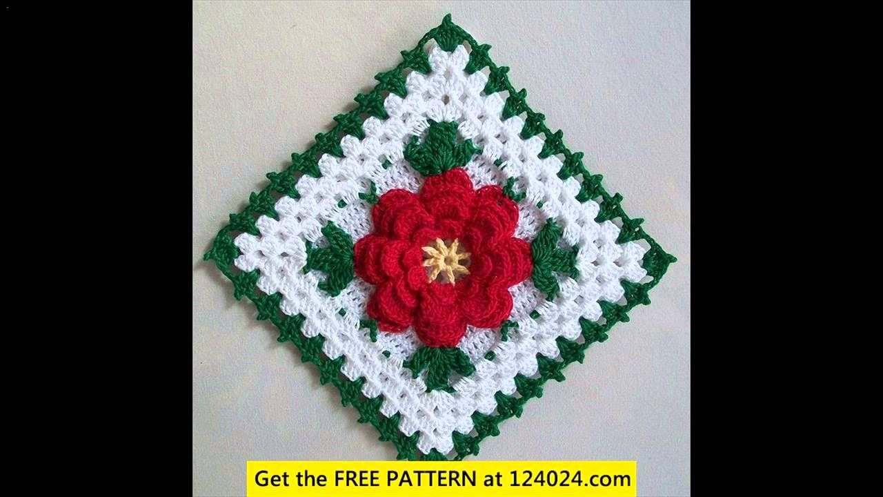 patron crochet potholder navidad - Buscar con Google | Vánoce ...