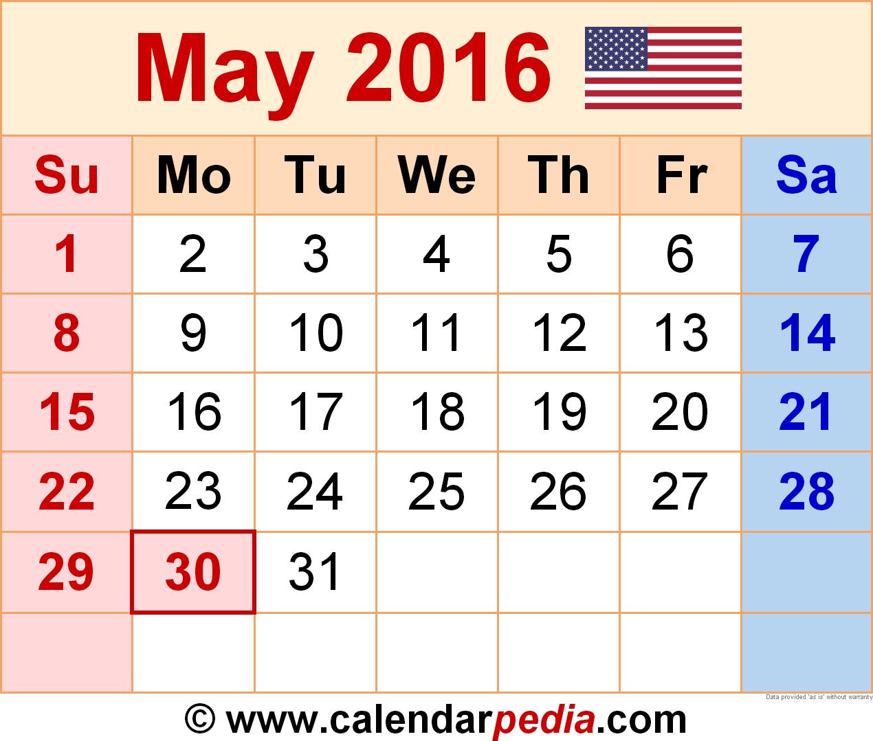 Mayan Calendar 2016