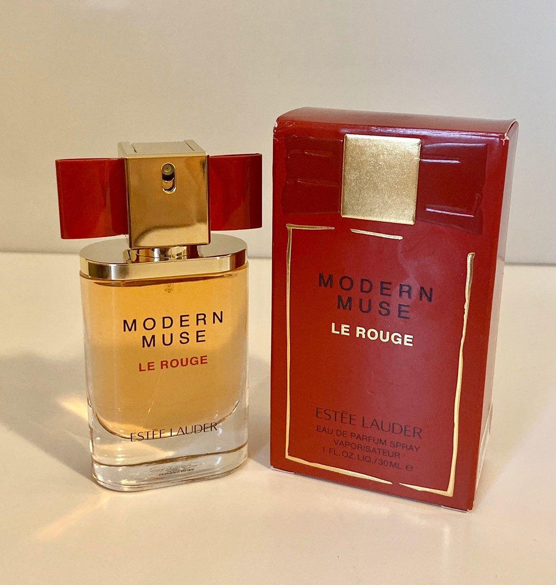 New In Box 100 Authentic Estee Lauder Modern Muse Le Rouge Eau De Parfum Spray Size 1 Oz Estee Lauder Modern Muse Perfume Estee