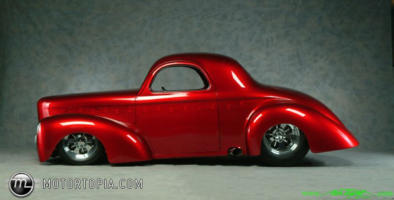 Willys Car: Photo Of A 1941 Willys Hot Rod (willy's Car