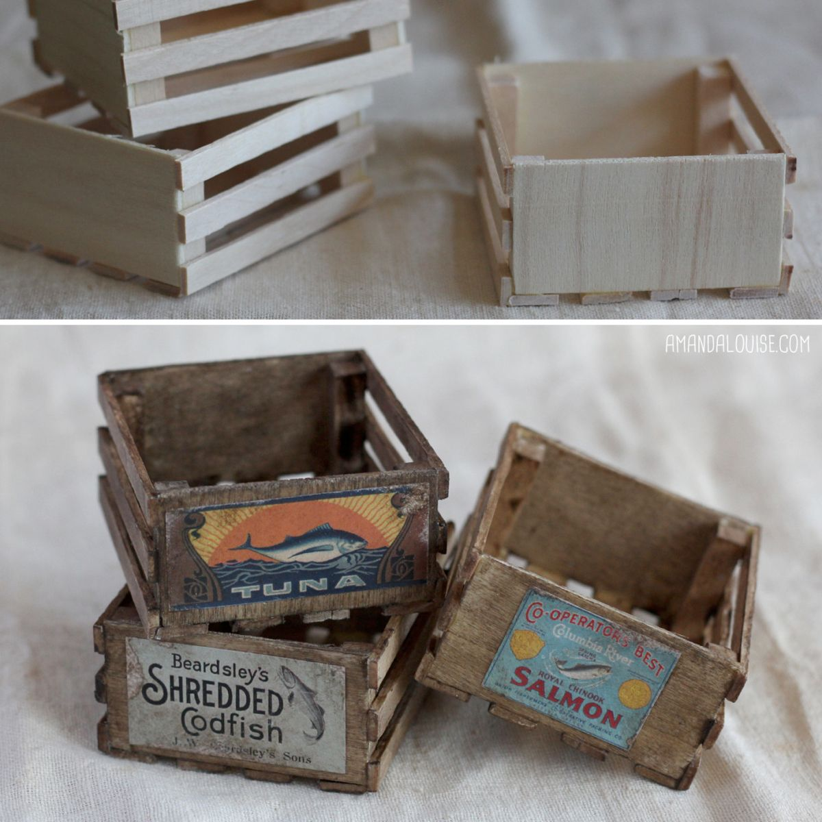 Amanda Louise Spayd's Dust Bunnies — Making miniature props is one of my favorite...