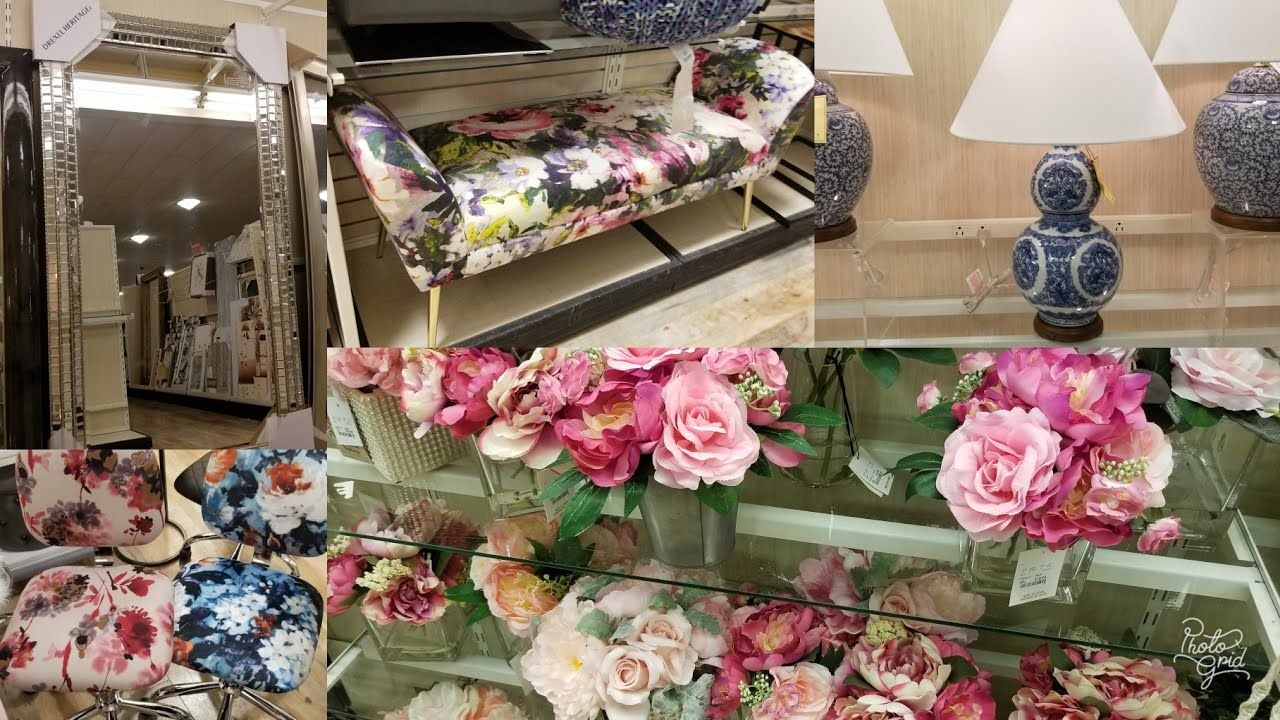 Shop With Me Homegoods Spring 2019 Home Decor Tour