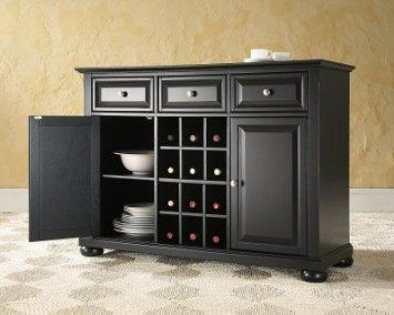 It's even named after me! Amazon.com: Crosley Furniture Alexandria Buffet Server , Sideboard Cabinet in Black Finish: Furniture & Decor