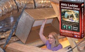 Attic Pulldown Stairs Insulation Cover  sc 1 st  Pinterest & Attic Pulldown Stairs Insulation Cover | http://shopgreenbeing.com ...