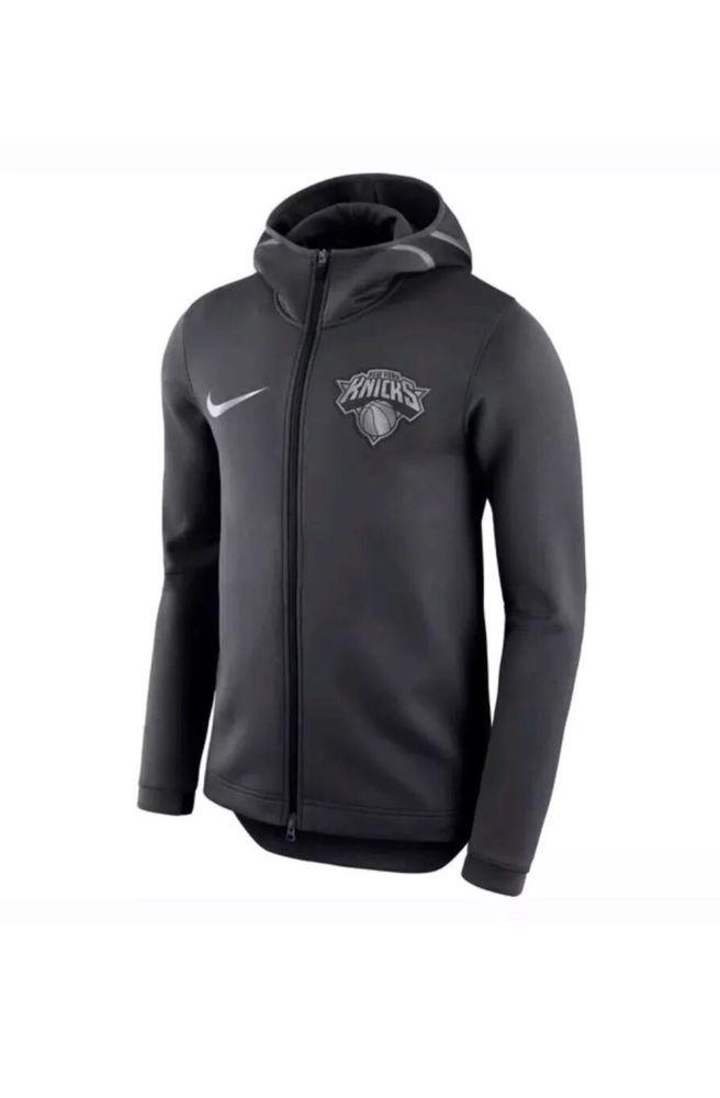 Nike NBA New York Knicks Therma Flex Showtime Bench Hoodie Size Small  AA1685 014  Nike  SweatshirtsFleeces 305de9a8f