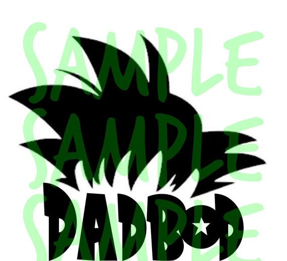 Goku Hair Dadbod Png Svg Dxf Eps Instant Digital Etsy Goku Hair Svg Goku