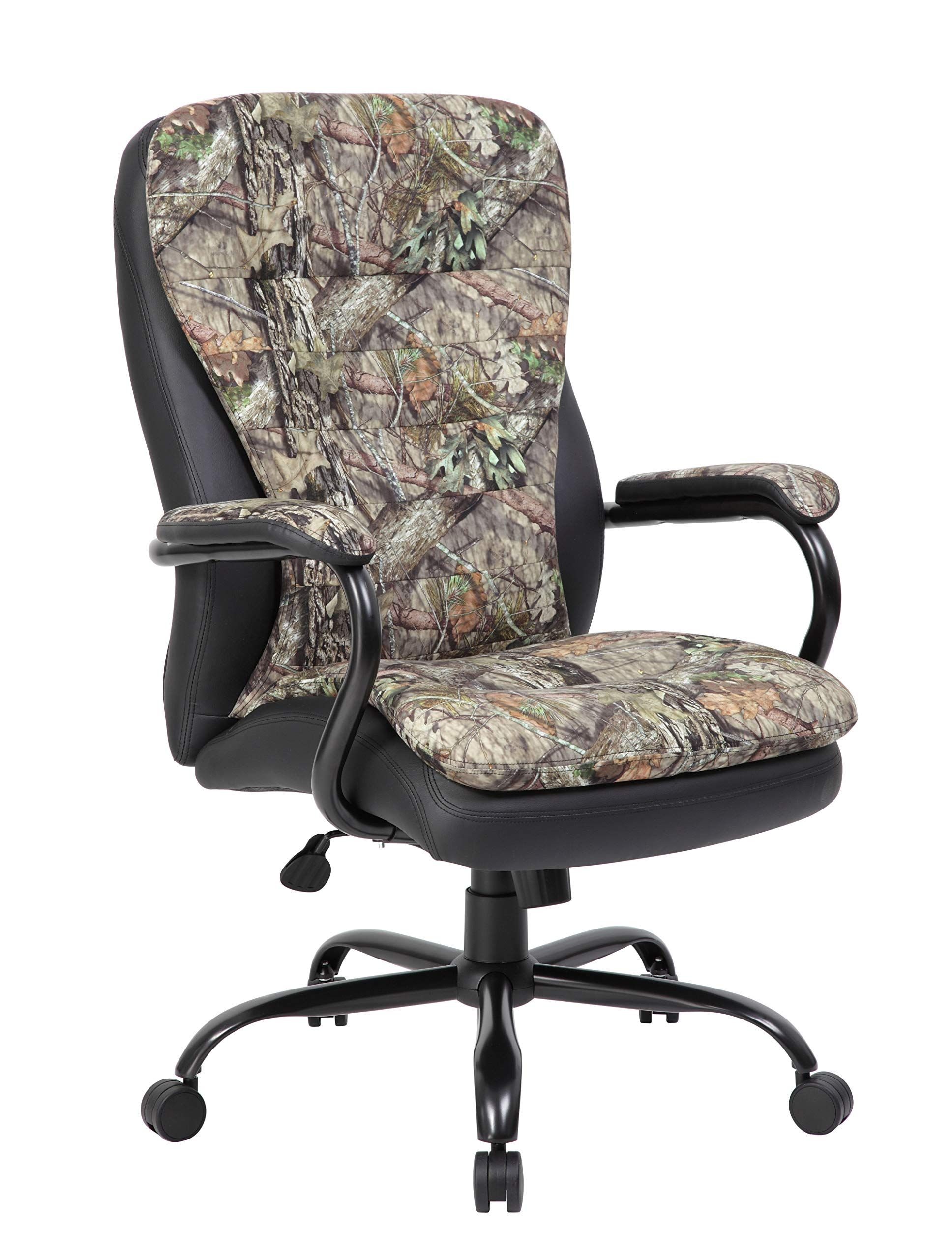 Boss Office Products Mossy Oak Big And Tall Break Up Country 400 Lb Capacity Office Chair Camo Office Chair Industrial Office Chairs Chair