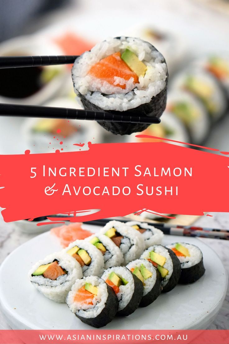 how to slice salmon for sushi rolls
