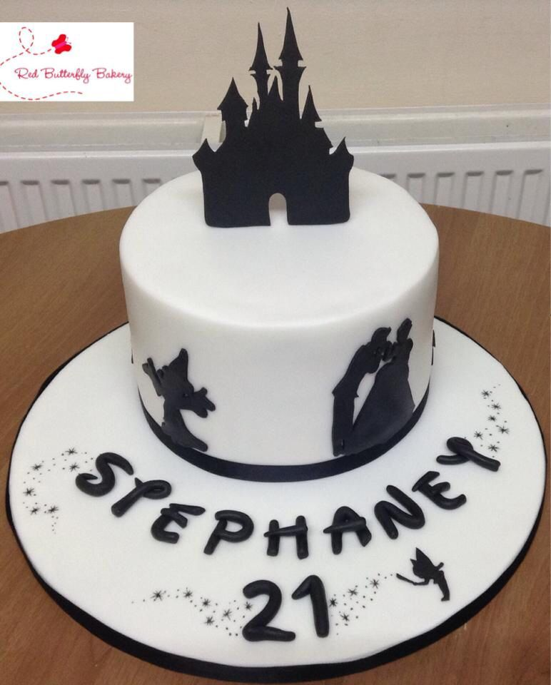 Adult Disney Cake With Font Name Birthday Cakes For Teens 18th