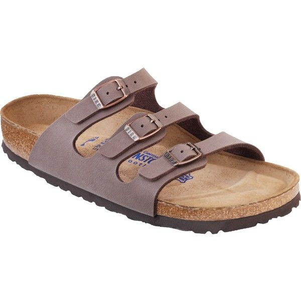 f1e5e61b207 Birkenstock Florida Soft Footbed Sandal ( 100) ❤ liked on Polyvore  featuring shoes