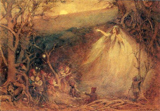 Queen Mab , Henry Meynell Rheam | Faerie II - Fairy art ...