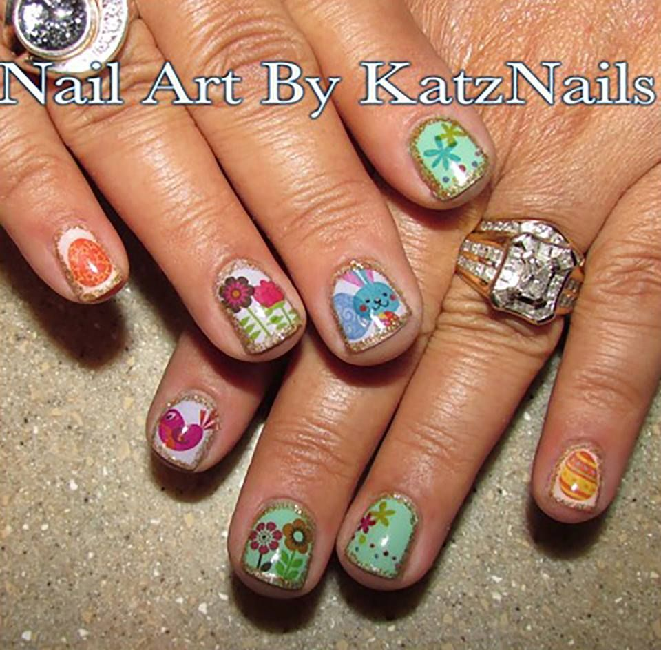 65 Absolutely Adorable Easter Nail Art Ideas To Get A New Look This