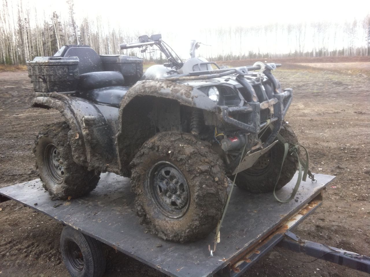 The girlfriends 03 yamaha grizzly 660 quads 4x4 for Yamaha grizzly 660 tracks
