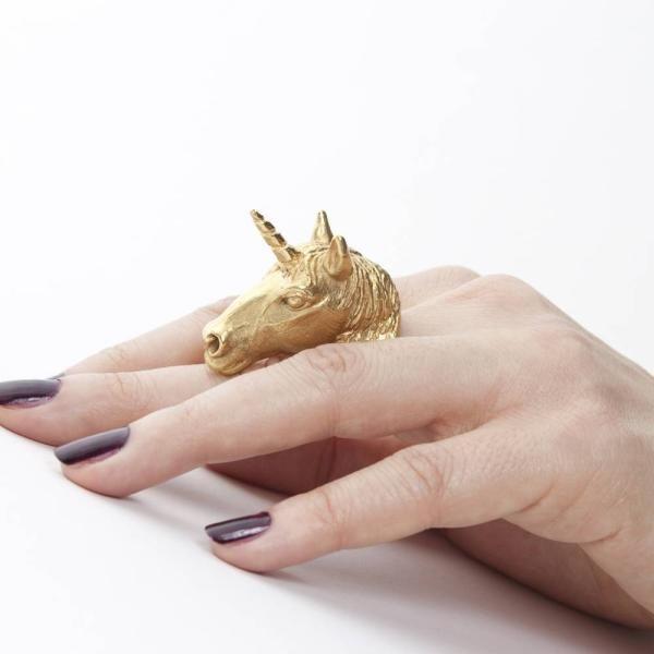Unicorn ring.